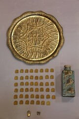 47 pre-Islamic gold plaques seized from smugglers