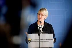وزیر خارجه سوئد استعفا می دهد
