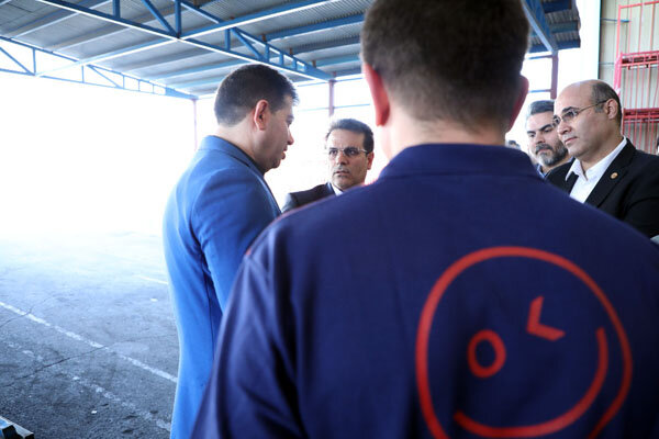بازدید رئیس هیات مدیره افق کوروش از انبارهای سرد و خشک در تهران