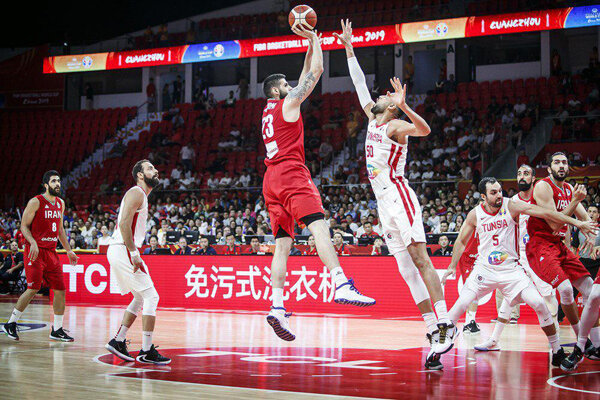 Iran basketball stopped short of advancing to next stage after loss to Tunisia