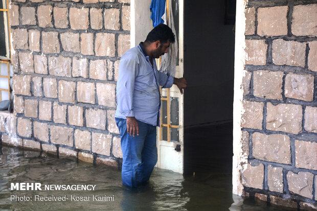 سدگتوند همچنان روستاها را به زیر آب می برد/خاطرات بی بی ماه زیرآب