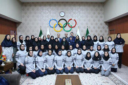 حضور معاون رئیس جمهور در کمیته ملی المپیک