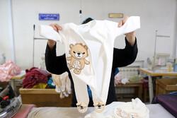 کارگاه تولید لباس کودک