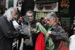 Traditional Muharram mourning ceremony in Bandar Abbas