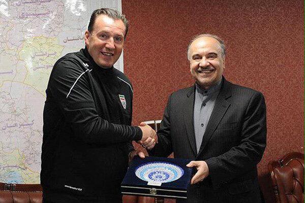 ویلموتس تیم ملی را محبوب و هجومی کند/ حمایت وزارت ورزش ادامه دارد