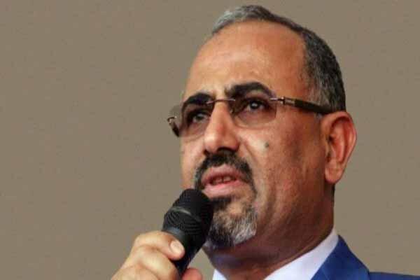 رئیس شورای انتقالی جنوب یمن عازم جده شد