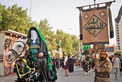 Muslim mourners mark martyrdom of Imam Hussein (AS)