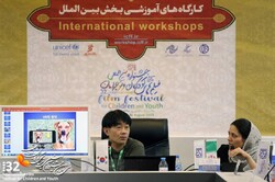 Korean expert holds workshop on VR cinema in Isfahan