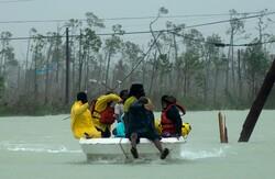 طوفان «دوریان » در باهاماس
