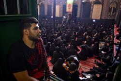 تہران میں حسینیہ سادات اخوی میں عزاداری