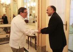 Cuba FM - Iran envoy