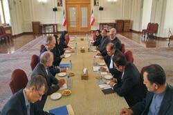 Iranian diplomat, UN Syria envoy meet in Tehran