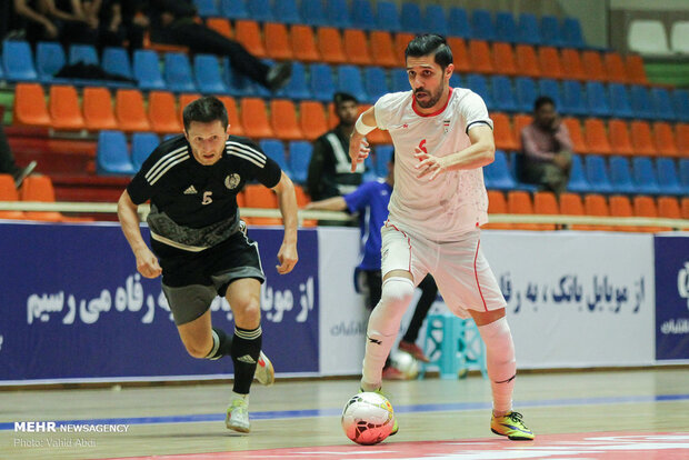 شکست سنگین تیم ملی فوتسال ایران/ شاگردان ناظم الشریعه دوم شدند