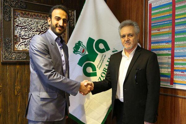 دیدار مدیرعامل باشگاه سپاهان با مدیرعامل ذوب آهن