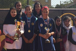 دختران تهران قهرمان مسابقات تنیس کشور شدند