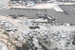 شمار قربانیان طوفان دوریان در باهاما به ۲۰ تن رسید