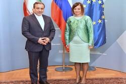 Irakçi, Ljubljana'da Slovenyalı mevkidaşı ile görüştü