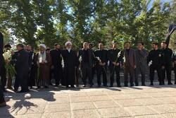 دادستان کل کشور به مقام شهدای نهاوند ادای احترام کرد