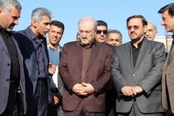 وزیر بهداشت از مرکز سوانح سوختگی در حال ساخت سمنان بازدید کرد