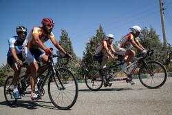 بطولة الدراجات الهوائية في إيران لذوي الإعاقة البصرية/صور