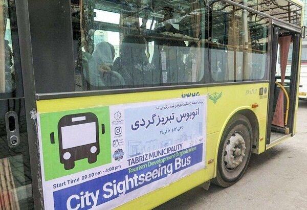 اتوبوسهای تبریزگردی ۱۲۱ هزار نفر ساعت خدمات ارائه کردند