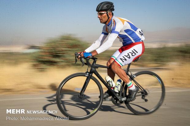 بطولة الدراجات الهوائية في إيران لذوي الإعاقة البصرية