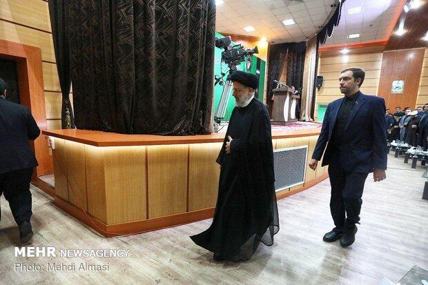 سفر آیت الله سید ابراهیم رئیسی رئیس قوه قضائیه به زنجان