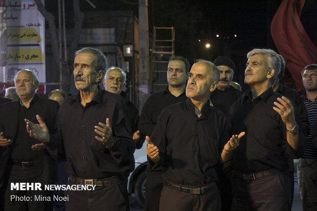 مراسم « شاهحسینگویان » در تبریز