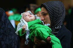'Hosseini infants' gathering in Jamkaran Holy Mosque
