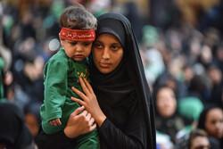 برگزاری مراسم سوگواری شیرخوارگان حسینی در اراک