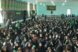 همایش شیرخوارگان حسینی در پلدختر برگزار شد