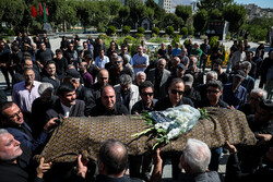 مرحوم مہدی علی محمدی کی تشییع جنازہ