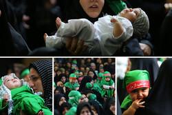گردهمایی بزرگ شیرخوارگان حسینی در سراسر ایران/ به یاد علیاصغر؛ همدرد با رباب