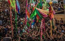 برگزاری آیین سنتی، مذهبی « علم پیغمبر» در میناب