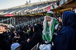 """تجمع """"الرضع الحسينيون"""" في ملعب آزادي بالعاصمة طهران / صور"""