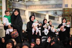 مصلی تہران میں کربلا کے ننھے مجاہد کی یاد میں بچوں کا اجتماع