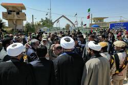 ایران اور عراق کے حکام کی موجودگی میں خسروی سرحد کھول دی گئی