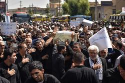 """مسيرة شعبية حاشدة في """"رشت"""" تنديدا بأعمال الشغب"""