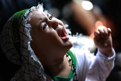 مراسم «شیرخوارگان حسینی» در جزیره کیش