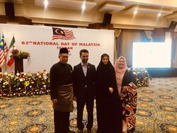Malaysian embassy in Tehran marks Independence Day