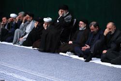 اقامة الليلة الاولى للعزاء الحسيني بحضور قائد الثورة