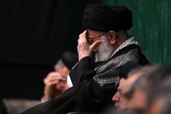 """İslam Devrimi Lideri'nin huzurunda """"Kerbela matemi"""" töreni"""