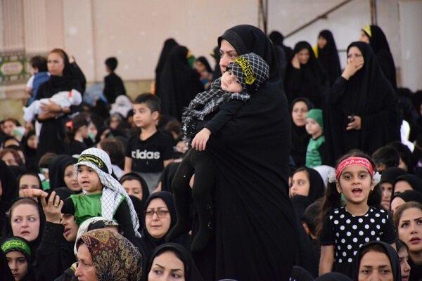 همنوایی مادران گیلانی با حضرت رباب/ همایش شیرخوارگان برگزار شد