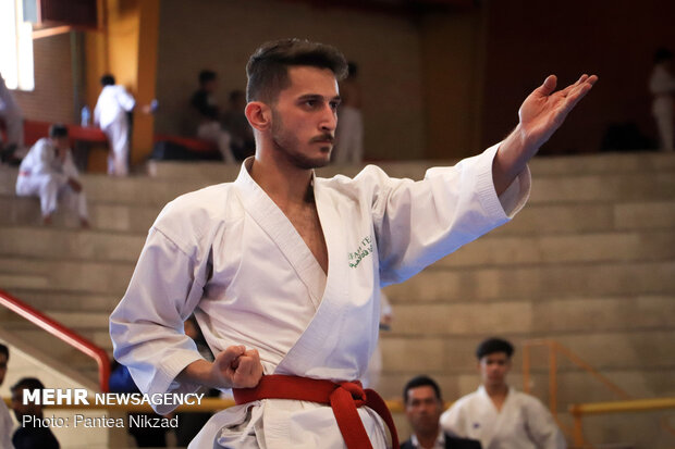 Nationwide Karate C'ship competitions in Shahr-e Kord