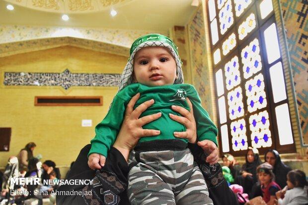 مراسم « شیرخوارگان حسینی» در مصلای تبریز