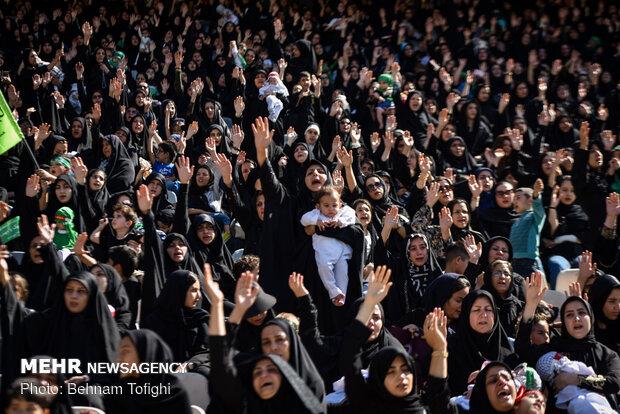 Hosseini Infants' gathering in Azadi Sport Complex