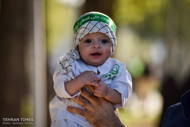 'Hosseini infants' ceremony held nationwide