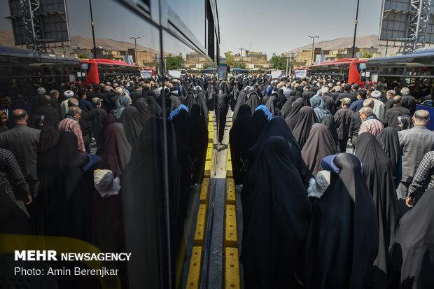 راهپیمایی و تجمع آمرین به معروف و ناهیان از منکر در شیراز