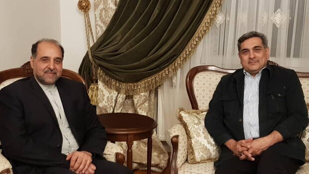 Tehran mayor in Berlin for developing bilateral ties