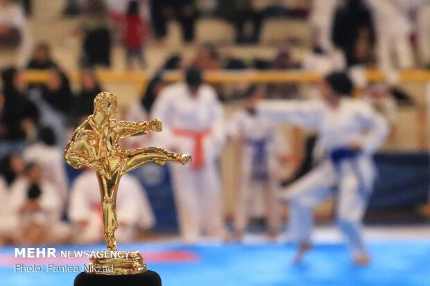 """إقامة بطولة """"الكاراتيه"""" على مستوى الدولة في """"شهركرد"""""""